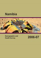Cover of Namibia DHS, 2006-07 - Final Report (English)