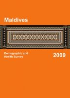 Cover of Maldives DHS, 2009 - Final Report (English)