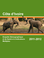 Cover of Cote d'Ivoire DHS, 2011-12 - Final Report (French)