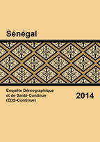 Cover of Senegal DHS, 2014 - Final Report Continuous 2014 (French)