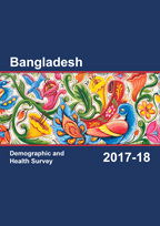 Cover of Bangladesh DHS, 2017-18 - Final Report (English)