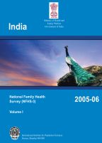 Cover of India DHS, 2005-06 - Final Report (English)