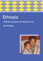 Cover of Ethiopia DHS, 2005 - Key Findings (English)