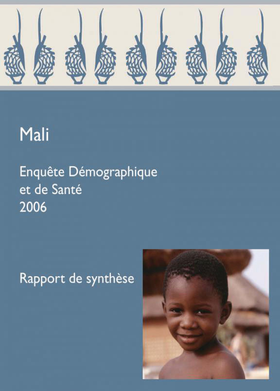 Cover of Mali DHS, 2006 - Summary Report (French)