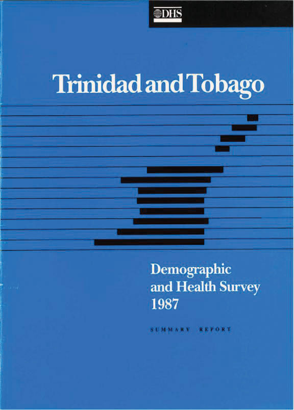 Cover of Trinidad and Tobago DHS, 1987 - Summary Report (English)