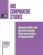 Comparative Report 26 - Demographic and Socioeconomic Characteristics of Households